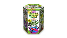 Набір д/пророщування рослини Grass Monsters Head 03 (поливай і спостерігай)+Чарівний Біб(у)(8)Д
