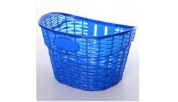 Кошик для велосипеда AS1909  12-16дюймового  пластик розмір 26-17-20см  колір синий