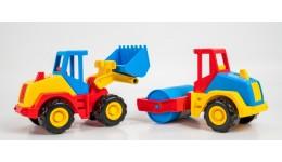 трактор  Tech Truck    2 моделі 39476(Wader)