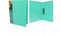 Папка з притиском А4 SCHOLZ  05500 з кишенею зелений 700мкн РР (1/20)
