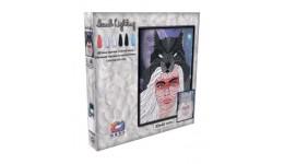 Картина з легкої глини ОКТО 70077 ТМ Moon Light Clay Вовчиця (коробка 30*40см)