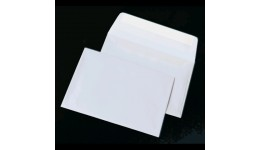 Конверт КУВЕРТ 1040 С6 (114*162мм) білий СКЛ термоупак. (10/1000)