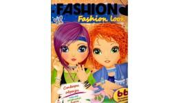 Fashion А4: Fashion luk  (66 наліпок) створи образи  наклей  домалюй  виріж розмалюй (у) П