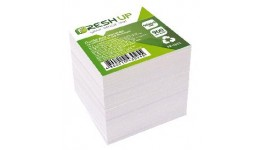 Блок паперу Fresh Up FR-1611 для нотаток білий не клеєний ПРЕМІУМ 90х90х900арк (1/36/1152)