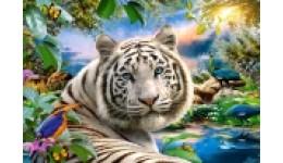 Пазл Касторленд 1500 (1318) Білий тигр  68*47 см