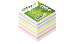Блок паперу Fresh Up FR-2611 для нотаток мікс не клеєний 90х90х900арк (1/36/1152)