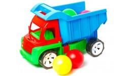 Алєкс грузовик з великими кульками БАМСІК 40*24*24 см