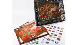 Діамантовий живопис ДМ-01-06 Букет DIAMOND MOSAIC великий ДТ (1/10)
