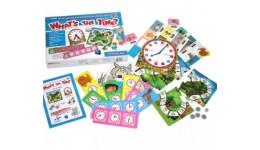 Гра в питання: Котра година? (на англ.мові) (у)(210)