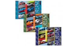 Альбом А4 YES 130383 для малювання на спіралі 20арк.  Performance cars  (3/108)