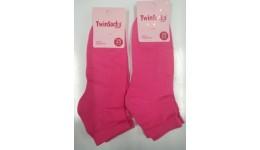 Шкарпетки жіночі плюшевий слід р.23-25 (38-40) TwinSoks