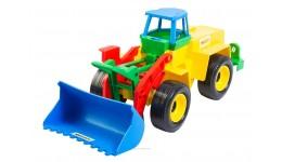 Трактор Екскаватор 16*15*36см (Wader)