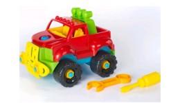 іграшка-конструктор  Позашляховик    30.009  ТМ Toys Plast