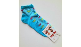 Шкарпетки дитячі р.14 колір БІРЮЗА - 70% бавовна  30% поліамід