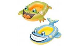 Плотик надувний BW 34085  99-66см  2вида (рибка  жаба)
