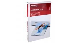 Плівка для ламінування А4 AXENT 2010 75мкм 216*303мм 100шт (1)