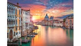 Пазл Касторленд  500 (2479) Захід сонця у Венеції  47*33 см