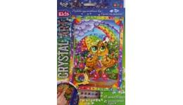 Мозаїка з кристалів  CRYSTAL ART KIDS  10 Сова під парасолею ДТ (1/20)