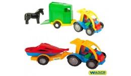 Авто-багги з причепом 15*14 5*38 5см (Wader)