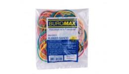 Гумка для банкнот BUROMAX 5501  50г асорті (1/400)
