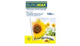 Плівка для ламінування А5 BUROMAX 7754 100мкм 216*303мм 100шт (1)