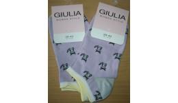 Шкарпетки жіночі 36-38 calzino-lillac WSS-001- 64% бавовна  34% поліамід  2% еластан