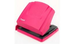 Діркопробивач AXENT 3430-10 пластик 30арк. рожевий Shell (1/12)