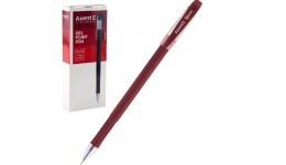 Ручка гелева AXENT AG1006-06 червона 0 5мм  Forum  (12)