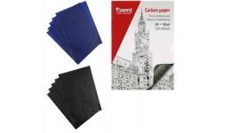 Папір копіювальний AXENT 3301-01 А4 чорний 100арк (1)
