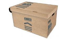 Короб д/архівних боксів BUROMAX 3270-34 картон. 580х390х265мм КРАФТ (1)
