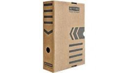 Архівний бокс BUROMAX 3260-34 картон. 355*255*80мм  КРАФТ (1/10)