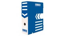 Архівний бокс BUROMAX 3261-02 картон. 355*255*100мм СИНІЙ (1/10)
