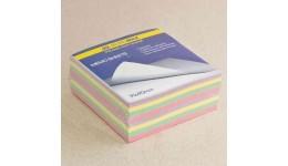 Блок паперу BUROMAX 2284 д/нотаток  Декор  склеєний 90*90*40мм (1/72)