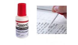 Коректор з пензликом AXENT 7001  20мл (від 1шт.)