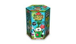 Набір д/пророщування рослини Grass Monsters Head 07 (поливай і спостерігай)+Чарівний Біб(у)(8)Д