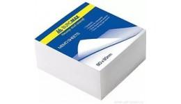 Блок паперу BUROMAX 2201 д/нотаток білий не склеєний 80*80*30мм (1/30)