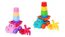 Іграшка  Набір для гри з піском ТехноК   арт.7051 21.3 х 16.5 х 12.5 см