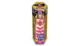 Зроби ляльку Princess Doll 01-01 Полуничка (пластилін  кристали  стрази  блискітки) ДТ (1/8)