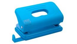 Діркопробивач BUROMAX  4016-14 пластиковий TOUCH   10арк блакитний (1/12)