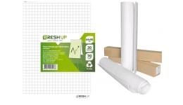 Блок паперу д/фліпчарту Fresh Up FR-20KK 20арк. 64*90см КЛІТИНКА 70г/м2  в коробі (1)