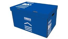 Короб д/архівних боксів BUROMAX 3270-02 картон. 580х390х265мм СИНІЙ (1)