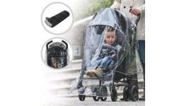 Дощовик ME 1061 універсальний  для коляски  кишеню  чохол  в кульку  19-24-3см