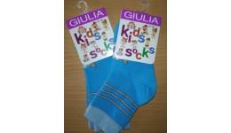 Шкарпетки дитячі KSL-002 calzino-blue 18 - 68% бавовна  29% поліамід  3% еластан