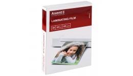 Плівка для ламінування А6 AXENT 2060 100мкм 111*154мм 100шт (1)