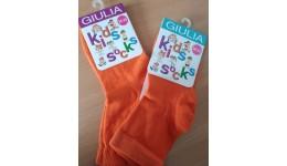 Шкарпетки дитячі 14-16 KSL COLOR calzino-orange бавовна 74% поліамід 22% еластан 4%