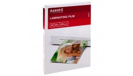 Плівка для ламінування А4 AXENT 2050 80мкм 216*154мм 100шт (1)