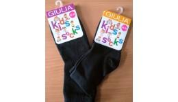 шкарпетки KSL COLOR calzino-black-22 бавовна 74% поліамід 22% еластан 4%
