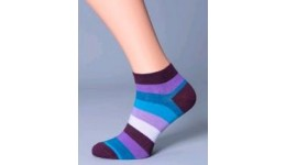 Чоловічі шкарпетки демісез 45-46 calzino-violet MSS-001 - 61% бавовна  37% поліамід  2% еластан