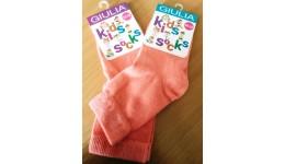 Шкарпетки дитяічі 12-14 KSL COLOR calzino-geranium бавовна 74% поліамід 22% еластан 4%