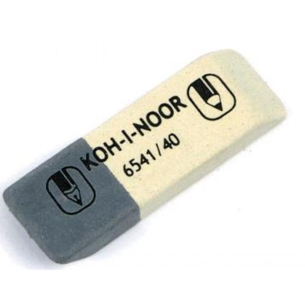 Гумка KOH-I-NOOR 6541/40 комбінована SunPearl (40/320)